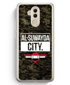 Huawei Mate 20 Lite Hardcase Hülle - Al Suwayda City Camouflage Syrien
