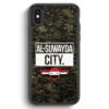 iPhone X & iPhone XS Silikon Hülle - Al Suwayda City Camouflage Syrien