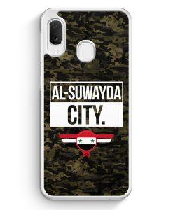 Samsung Galaxy A20e Hardcase Hülle - Al Suwayda City Camouflage Syrien