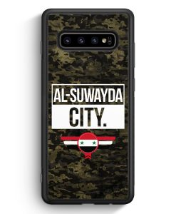 Samsung Galaxy S10e Silikon Hülle - Al Suwayda City Camouflage Syrien