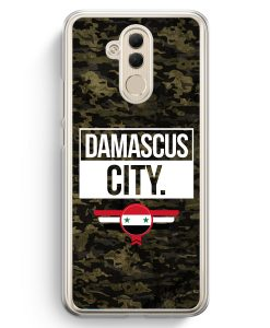 Huawei Mate 20 Lite Hardcase Hülle - Damascus City Camouflage Syrien