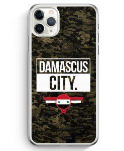 iPhone 11 Pro Hardcase Hülle - Damascus City Camouflage Syrien