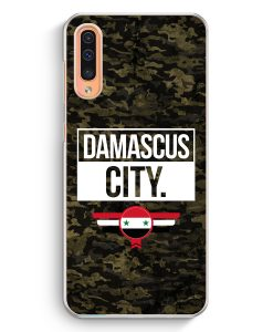 Samsung Galaxy A50 Hardcase Hülle - Damascus City Camouflage Syrien