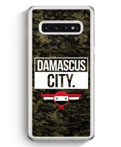 Samsung Galaxy S10+ Plus Hardcase Hülle - Damascus City Camouflage Syrien