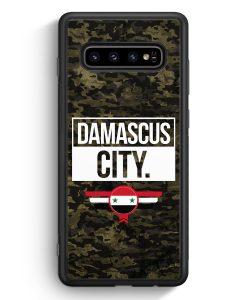 Samsung Galaxy S10e Silikon Hülle - Damascus City Camouflage Syrien