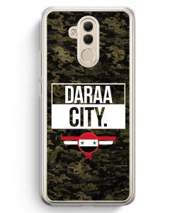 Huawei Mate 20 Lite Hardcase Hülle - Daraa City Camouflage Syrien