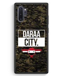 Samsung Galaxy Note 10+ Plus Silikon Hülle - Daraa City Camouflage Syrien