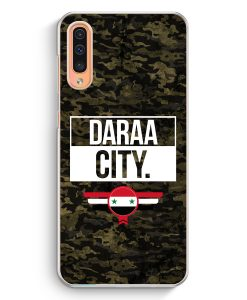 Samsung Galaxy A50 Hardcase Hülle - Daraa City Camouflage Syrien