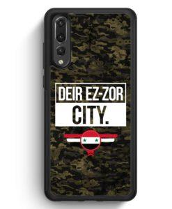 Huawei P20 Pro Hülle Silikon - Deir Ez Zor City Camouflage Syrien