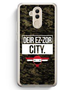 Huawei Mate 20 Lite Hardcase Hülle - Deir Ez Zor City Camouflage Syrien