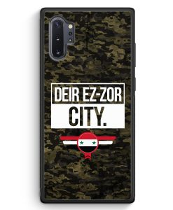 Samsung Galaxy Note 10+ Plus Silikon Hülle - Deir Ez Zor City Camouflage Syrien