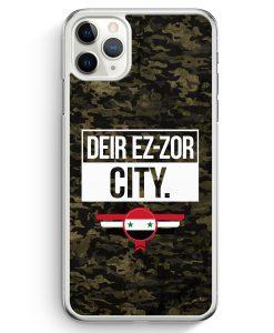 iPhone 11 Pro Hardcase Hülle - Deir Ez Zor City Camouflage Syrien