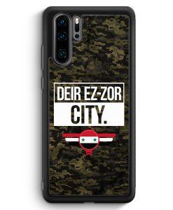 Huawei P30 Pro Silikon Hülle - Deir Ez Zor City Camouflage Syrien