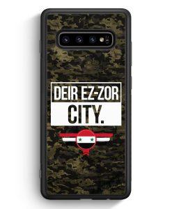 Samsung Galaxy S10e Silikon Hülle - Deir Ez Zor City Camouflage Syrien