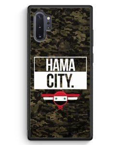 Samsung Galaxy Note 10+ Plus Silikon Hülle - Hama City Camouflage Syrien