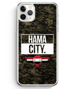 iPhone 11 Pro Max Hardcase Hülle - Hama City Camouflage Syrien