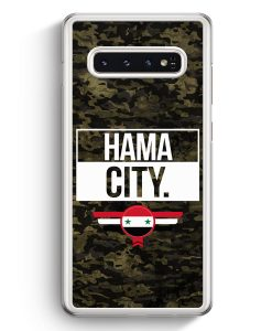 Samsung Galaxy S10+ Plus Hardcase Hülle - Hama City Camouflage Syrien