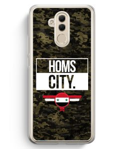Huawei Mate 20 Lite Hardcase Hülle - Homs City Camouflage Syrien
