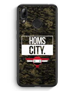 Huawei Y7 (2019) Silikon Hülle - Homs City Camouflage Syrien