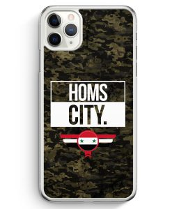 iPhone 11 Pro Max Hardcase Hülle - Homs City Camouflage Syrien