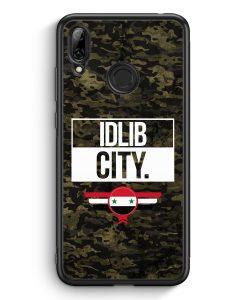 Huawei Y7 (2019) Silikon Hülle - Idlib City Camouflage Syrien