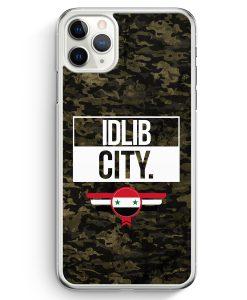 iPhone 11 Pro Hardcase Hülle - Idlib City Camouflage Syrien