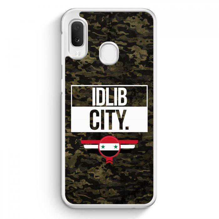 Samsung Galaxy A20e Hardcase Hülle - Idlib City Camouflage Syrien