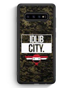 Samsung Galaxy S10e Silikon Hülle - Idlib City Camouflage Syrien