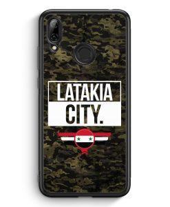 Huawei Y7 (2019) Silikon Hülle - Latakia City Camouflage Syrien