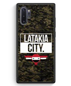 Samsung Galaxy Note 10+ Plus Silikon Hülle - Latakia City Camouflage Syrien