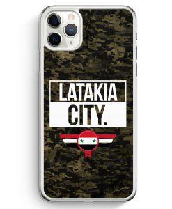 iPhone 11 Pro Hardcase Hülle - Latakia City Camouflage Syrien