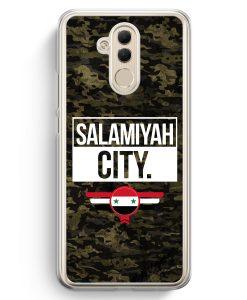 Huawei Mate 20 Lite Hardcase Hülle - Salamiyah City Camouflage Syrien