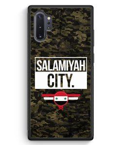 Samsung Galaxy Note 10+ Plus Silikon Hülle - Salamiyah City Camouflage Syrien