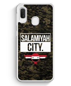 Samsung Galaxy A20e Hardcase Hülle - Salamiyah City Camouflage Syrien