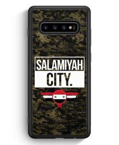 Samsung Galaxy S10e Silikon Hülle - Salamiyah City Camouflage Syrien