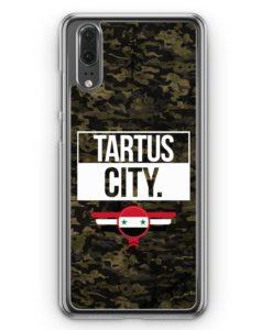 Huawei P20 Hülle Hardcase - Tartus City Camouflage Syrien