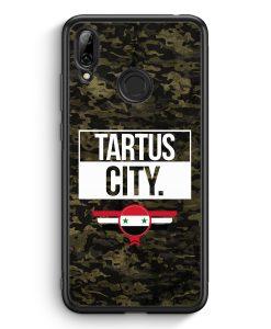 Huawei Y7 (2019) Silikon Hülle - Tartus City Camouflage Syrien