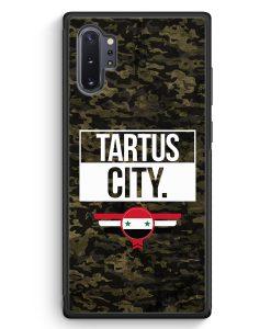 Samsung Galaxy Note 10+ Plus Silikon Hülle - Tartus City Camouflage Syrien
