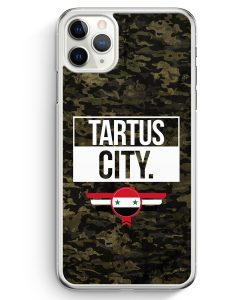 iPhone 11 Pro Max Hardcase Hülle - Tartus City Camouflage Syrien