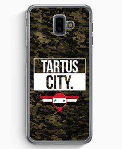 Samsung Galaxy J6+ Plus (2018) Hardcase Hülle - Tartus City Camouflage Syrien