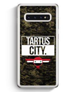 Samsung Galaxy S10+ Plus Hardcase Hülle - Tartus City Camouflage Syrien