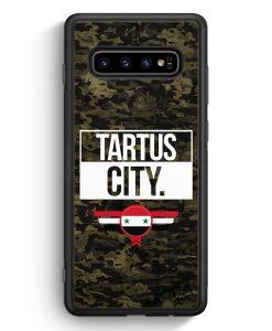 Samsung Galaxy S10e Silikon Hülle - Tartus City Camouflage Syrien