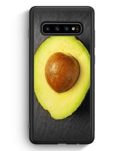 Samsung Galaxy S10e Silikon Hülle - Avocado Foto
