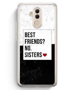Huawei Mate 20 Lite Hardcase Hülle - Best Friends? Sisters.