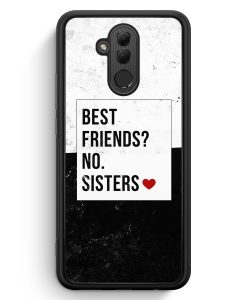 Huawei Mate 20 Lite Silikon Hülle - Best Friends? Sisters.