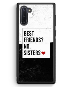 Samsung Galaxy Note 10 Silikon Hülle - Best Friends? Sisters.