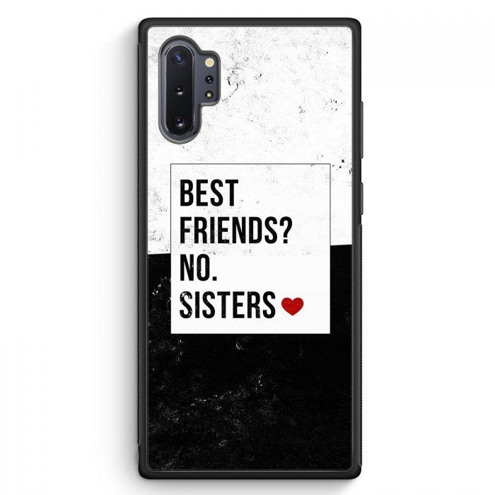 Samsung Galaxy Note 10+ Plus Silikon Hülle - Best Friends? Sisters.