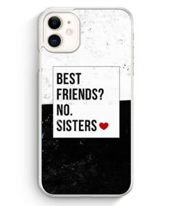 iPhone 11 Hardcase Hülle - Best Friends? Sisters.