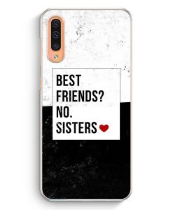 Samsung Galaxy A50 Hardcase Hülle - Best Friends? Sisters.