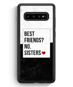 Samsung Galaxy S10 Silikon Hülle - Best Friends? Sisters.